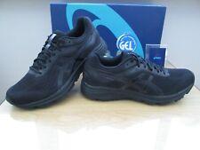 Asics Gel GT-1000 7 para hombres Phantom Noir Negro Correr Zapatillas Size UK 8.5 EU 43.5