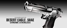 Tokyo Marui No.16 Desert Eagle 50 AE Chrome Stainless Steel Gas Blow Back Gun