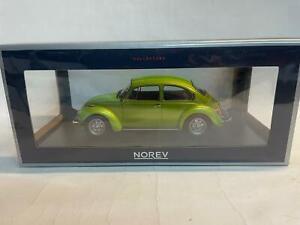 Norev Volkswagen Maggiolino Beetle 1303 metallic green 1973 1/18 188523