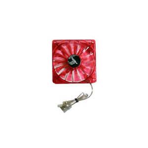 Bgears B-PWM 140mm Red LED Pwm Case Fan BG01268