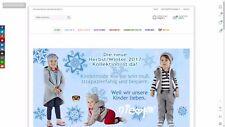 Einzigartiger Online Shop für Baby und Kindermode inkl. TOP-Domain und Waren