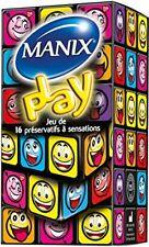 Manix Play 16 Préservatifs