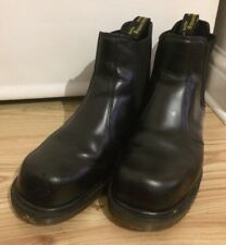 Dr. Martens AirWair Steel Toe Cap Safety Boots Chelsea Doc Martins Size 10