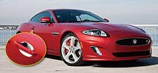 PAIR NEW Chrome DOOR HANDLE CUPS SCOUPS INNER Trims for Jaguar XK XKR XK8 2006 >