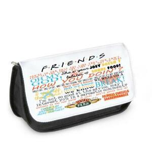 Friends TV Show Make up Bag Pencil Case Glasses Birthday Lobster Ross Rachel