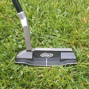 YES C-GROOVE CALLIE FORGED PUTTER - 34 inches  - Fitted with a tour heavy shaft