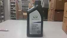 12 quarts of Infiniti Genuine 5W-30 Motor Oil OEM IN STOCK AND READY TO SHIP OUT