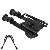 6-9 inch Adjustable Metal Spring Swivel Bipod for Hunting Shooting Air Rifle Gun