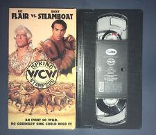 WCW Spring Stampede (VHS, 1994) WWF WWE nWo STING