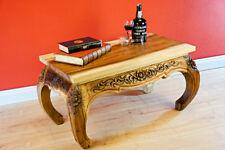 Couchtisch Opiumtisch 80 x 40 cm Sofatisch Wohnzimmer Opium Tisch Beistelltisch