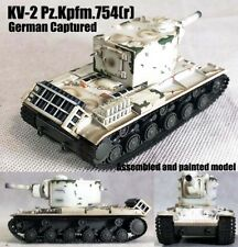 Easy Model German captured KV-2 Pz.Kpfm.754(r) Abt.56 winter 1:72 finished tank