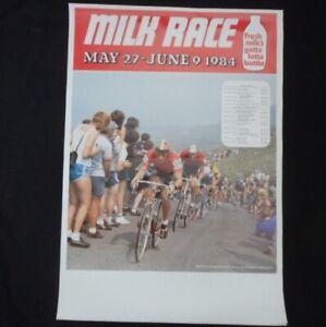 Original - Milk Race Cycling Poster May 27th - June 9th 1984