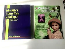 Teacher's Reference Ed, Learning Styles & Social Studies Bundle of 7 items Used