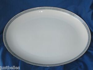 """Mikasa STELLAR 16"""" Oval Serving Platter (8387) have more items to this set"""