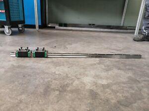 2 Pcs SBR12 Linearschiene Linearführung Gleitschiene 700MM 4 PcsSBR12UU