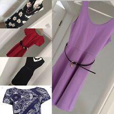 Ossie Clark River Island TU Plus More 5 Dress Bundle 4 New Size 8 £130