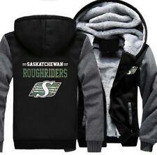 Saskatchewan Roughriders Hoodie Jacket Winter Sweater Thick Coat Sportswear New