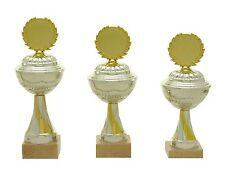 3er Serie Pokale 438 Silber/Gold mit Höhe=25,5-23,0 cm inkl.Gravur nur 26,65 EUR