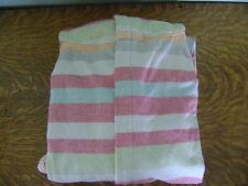 Pottery Barn Huntington Stripe Hooded Robe, Women's, Swimsuit Cover Up, Medium