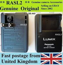 Original Panasonic Lumix Charger DE-A65 DMW-BCG10e DMC-TZ10 DMC-ZX1 DMC-TZS3 ZS1