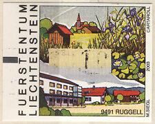 Liechtenstein: ATM Ruggell 00,10 (machine vending stamp)