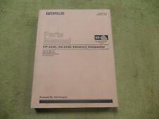 Caterpillar CP-323C, CS-323C 1EN,6DM, CAT Vibr Compact Parts Manual Service Book