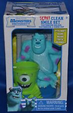 Monsters University~Scary Clean Smile~Toothbrush Holder~Brush~Rinse Cup~Bathroom