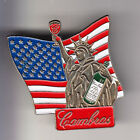 RARE PINS PIN'S .. TOURISME USA STATUE LIBERTE LIBERTY NEW YORK N.Y VIN WINE ~BV