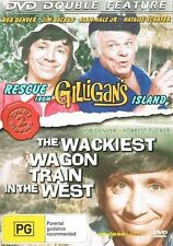 Rescue From Gilligan's Island / The Wackiest Wagon Train In The West (DVD, 2009)
