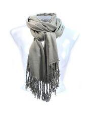 Écharpes et châles étoles gris pour femme