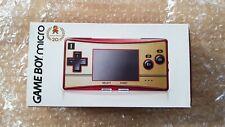 Console Nintendo GameBoy Micro Famicom Mario 20th Anniversary