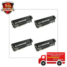 4pk Toner for HP 12A Q2612A 1022n 1022nw 3052 3055 M1319f M1319 1018 1020