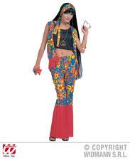 Costume Hippie - Rivestimento hippy donna tgl M anni '70anni '70 fiori vestito