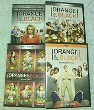 Orange is the New Black the complete series Seasons 1-4 dvd