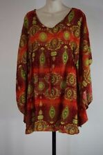 Handmade Paisley Casual Tops for Women