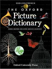 The Oxford Picture Dictionary English/French: English French Edition-ExLibrary