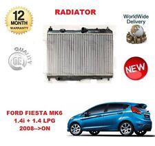 FOR FORD FIESTA MK6 1.4 i + 1.4 LPG 2008 >ON NEW RADIATOR UNIT