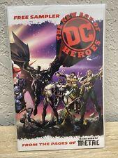The New Age of DC Heroes Free Sampler Dark Nights Metal Wondercon 2018