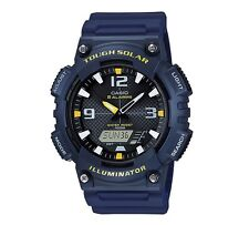 Casio Watch * AQS810W-2AV Tough Solar Illuminator Anadigi Blue Yellow COD PayPal