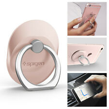 Express Spigen 360 Degree Style Ring Finger Holder Stand for Iphone/galaxy Rose Gold