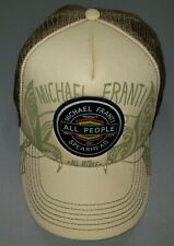 Michael Franti Spearhead All People Respect Unity and Love Beige Trucker Hat