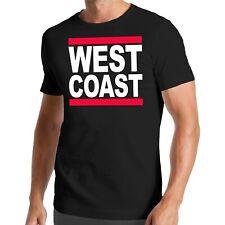 Run West Coast t-shirt | hip-hop | rap | DMC | East | westcoast | rythm