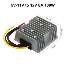DC converter 5V 6V 7V 8V 9V 10V 11V to 12V 8A 100W Step up Power Supply Booster