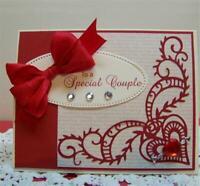 DiyArts Fancy Heart Corner Metal Cutting Dies Scrapbooking Card Christmas