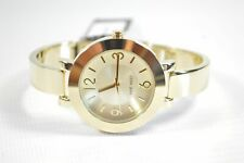 NINE WEST NW1630CHGB GOLD DIAL GOLD BRACELET LADIES WATCH