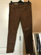 AG The Stevie Ankle Pant Jeans Brown Size 29R