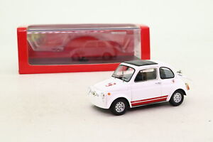 Spark S1308; Fiat Abarth 695 SS Assetto Corsa; White, Red Trim; Very Good Boxed