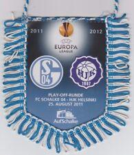 Orig. Wimpel Europa League 2011/12 FC Schalke 04 HJK Helsinki!!! SELTEN