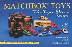 Miniature Matchbox Toys - Tyco Years 1993-1994 - Models +Values / Illust. Book