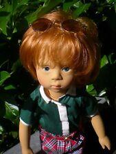Götz Puppe 46 cm Sylvia Natterer Junge SN89 Künstlerpuppe Gotz Doll 03